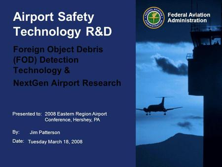 Airport Safety Technology R&D