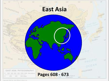 East Asia Pages 608 - 673.