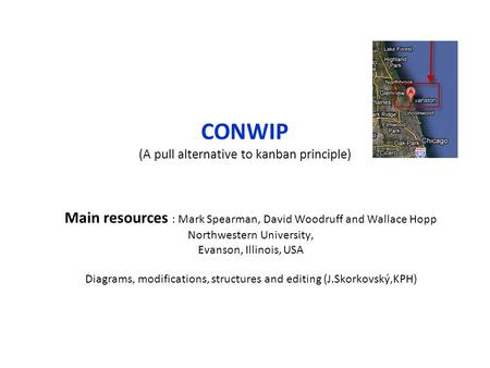 CONWIP (A pull alternative to kanban principle)