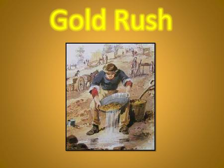 In 1851, after gold was discovered, the whole country caught gold fever. Men left their jobs, homes and families to join the rush to the goldfields.