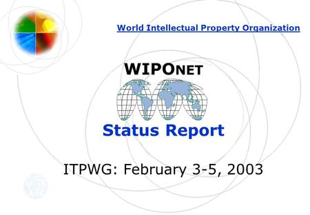 claims status report itpwg february 3 5 2003 world. Black Bedroom Furniture Sets. Home Design Ideas