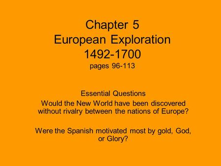 The Conquest of New Spain History – 1492-1901