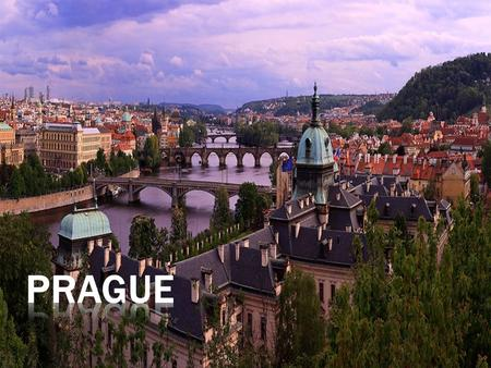 The magical city of bridges, cathedrals, gold-tipped towers and church domes, whose image has been mirrored in the surface of the Vltava river for more.