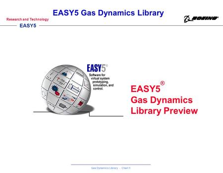 EASY5® Gas Dynamics Library Preview 1 1.