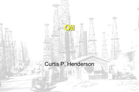 CPH Oil Curtis P. Henderson. CPH What is Petroleum? Petroleum:a natural yellow-to-black flammable liquid hydrocarbon found beneath the earths surface.