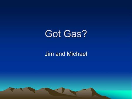 Got Gas? Jim and Michael. Problem Statement (Weight 15%) An investigation of a gas pump queue as a function of rationing policy We modeled the queue at.