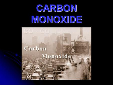 CARBON MONOXIDE. What is carbon monoxide? Carbon monoxide [with the chemical formula CO] is a colorless, odorless, tasteless but highly toxic gas. Despite.