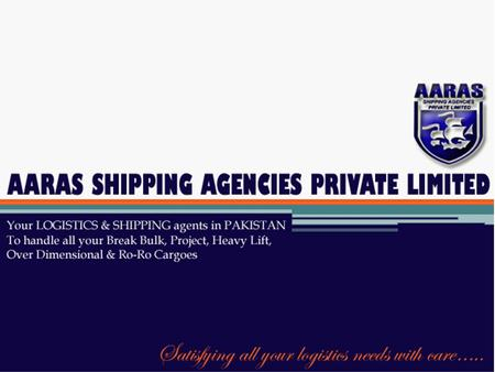 AARAS SHIPPING AGENCIES (PVT) LTD. handled three Vessels XIANG GUIMEN, HONG PROSPERITY and M.V SE PELAGICA simultaneously in the month of July, 2013,