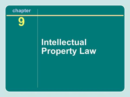 Chapter 9 Intellectual Property Law. Sources of Revenue in Sport Tangible sources –Merchandise –Tickets –Concessions Intangible sources –Player or team.