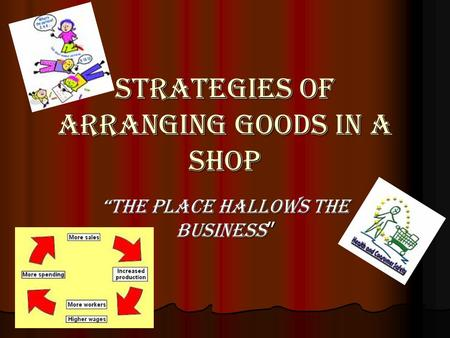 STRATEGIES OF ARRANGING GOODS IN A SHOP THE PLACE hallows THE BUSINESS THE PLACE hallows THE BUSINESS.