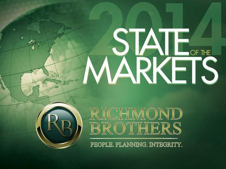 Richmond Brothers, Inc. is a Registered Investment Adviser. Richmond Brothers, Inc. does not provide tax or legal advice; consult your tax or legal advisor.