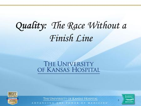 11 Quality: The Race Without a Finish Line. 2 Conflict of Interest Disclosure Speaker Conflict of Interest. Melanie Simpson is on the Speakers Bureau.