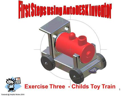 First Steps using AutoDESK Inventor