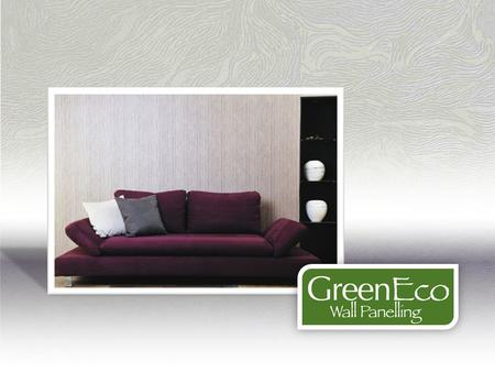 GreenEco Wall Panelling is manufactured using MgO board coated with a durable and authentic vinyl design.