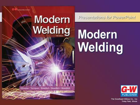 3 Welding Joints, Positions, and Symbols Chapter.
