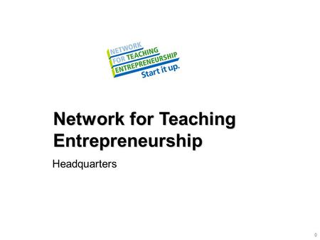 Network for Teaching Entrepreneurship Headquarters 0.
