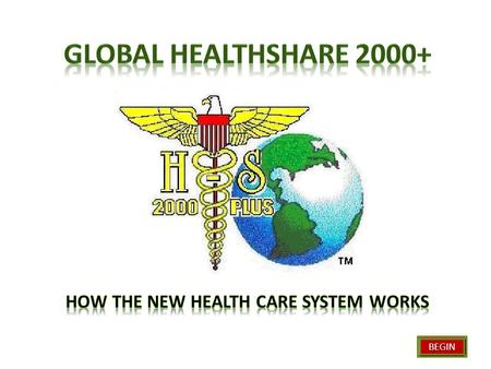 BEGIN. HealthShare 2000+ Contracts with Providers & Purchasers Integrated Service Providers Management Marketing Provides quality care Makes business.