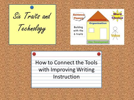Six Traits and Technology How to Connect the Tools with Improving Writing Instruction.