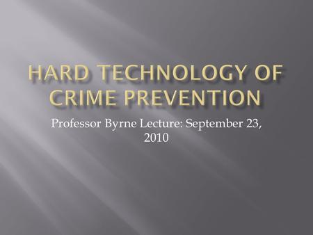 Professor Byrne Lecture: September 23, 2010.  Y&feature=related.