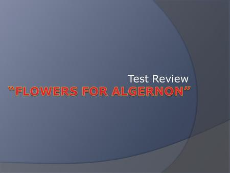 Test Review. Format The test has multiple choice and essay (Open Ended Response) questions. Todays review will be similar – but not identical – to Tuesdays.