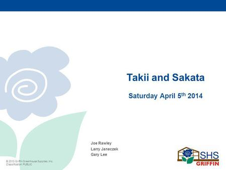 Takii and Sakata Saturday April 5th 2014