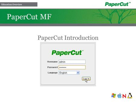 PaperCut Introduction