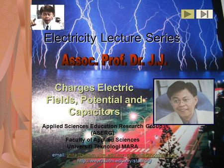Electricity Lecture Series