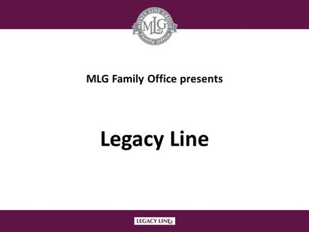 MLG Family Office presents