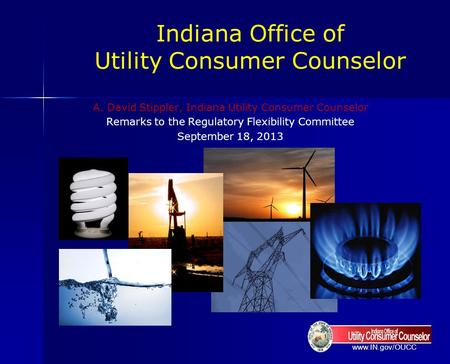 Indiana Office of Utility Consumer Counselor