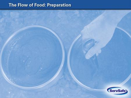The Four Acceptable Methods for Thawing Food 8-2 In a refrigerator, at 41 F (5 C) or lower Submerged under running potable water, at a temperature of.