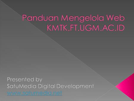 "SLIDESHOW Featured News (pilih kategori ""Featured"") + Featured Image as background 5 Latest News with Thumbnail Upcoming Events/AgendaEvents/Agenda Advertisement/Iklan."