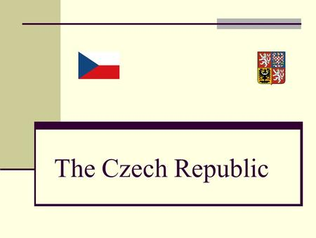 The Czech Republic. © Lenka Lexová INTRODUCTION  it's located in Central Europe  it borders on Poland in the northeast, on Germany in the west and northwest,