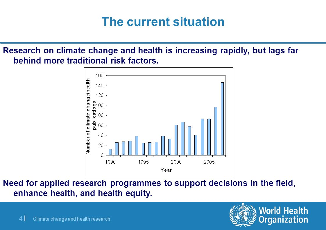 Climate change and health research 5 |5 | The MADRID AGENDA Defining the Global Research Agenda for Climate Change and Health October 2008 > top global researchers discuss way forward