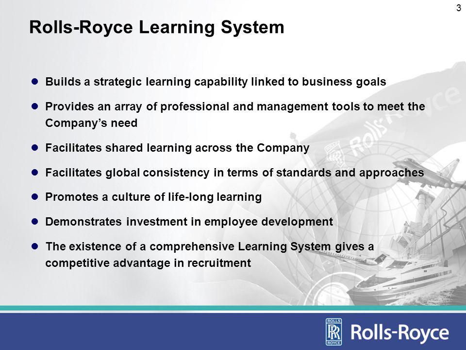 4 Rolls-Royce Learning System