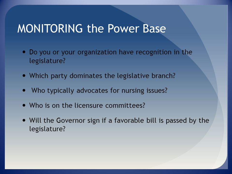 RELATIONSHIPS NURSING ORGANZATIONS WITHIN THE STATE PHYSICIAN GROUPS EMPLOYERS COALITION GROUPS CONSUMERS HOSPITAL ORGANIZATIONS