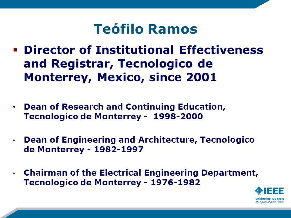Teófilo Ramos Ph.D.