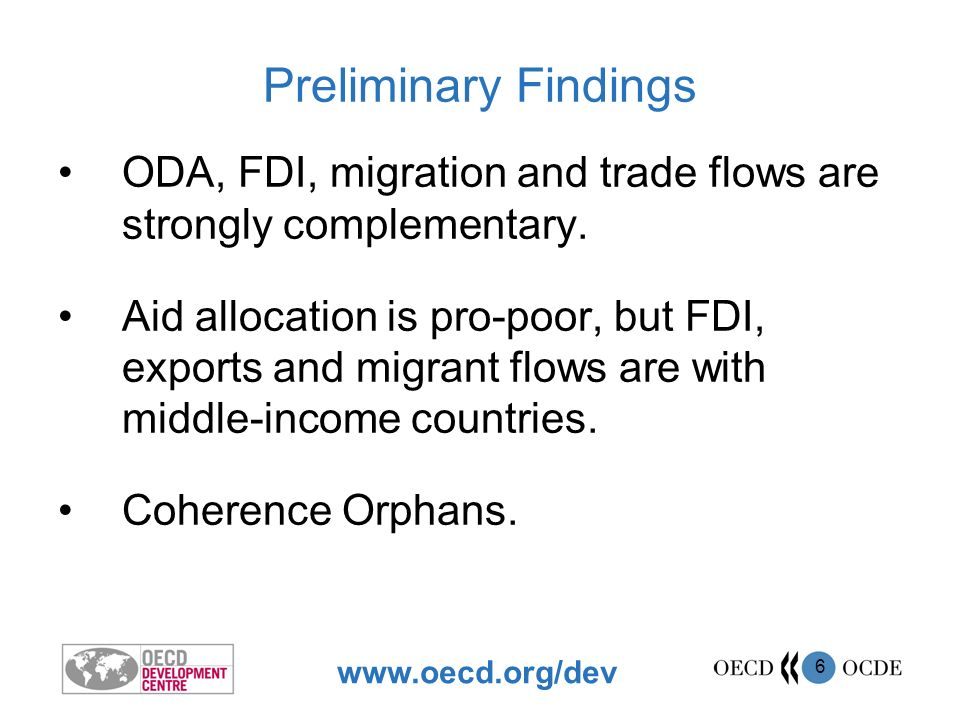 www.oecd.org/dev 7 What are the obstacles to diversification.