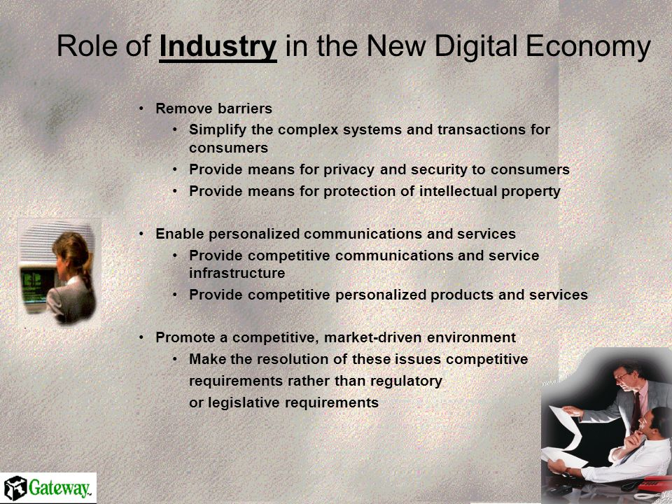 New Rules of the Road Needed U.S Economy has undergone profound structural transformation as impact of IT revolution has begun to hit home.