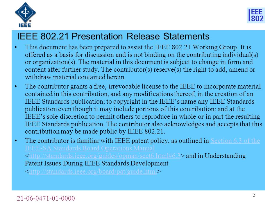 21-06-0471-01-0000 3 Background An action item was given at the last session to investigate whether there are any existing 802.11r native link events that are potentially of value to the upper layer MM decision making if passed as additional MIH link sync events.