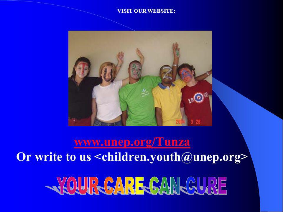 VISIT OUR WEBSITE: www.unep.org/Tunza Or write to us