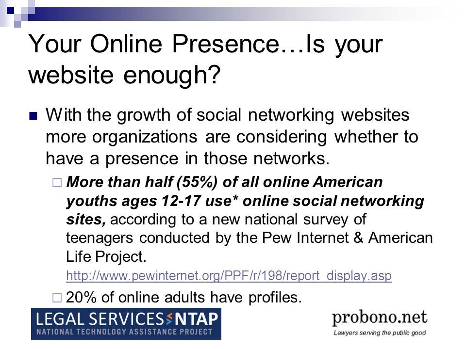 Social Networking Sites Using a social networking site means more than browsing or searching