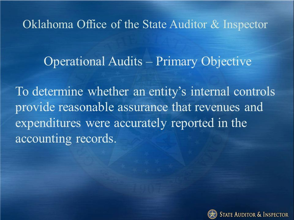ARRA: The Oklahoma Response Governor named State Auditor to serve as watchdog on stimulus expenditures.
