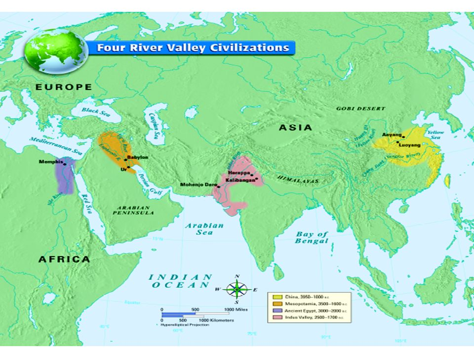 Nile River Valley Civilization The Nile River is the longest river in the world.
