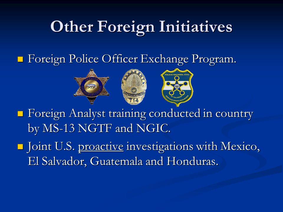 MS-13 National Gang Task Force