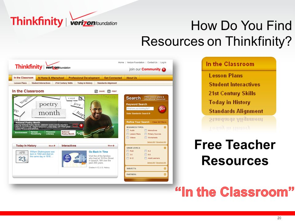 21 How Do You Find Resources on Thinkfinity?