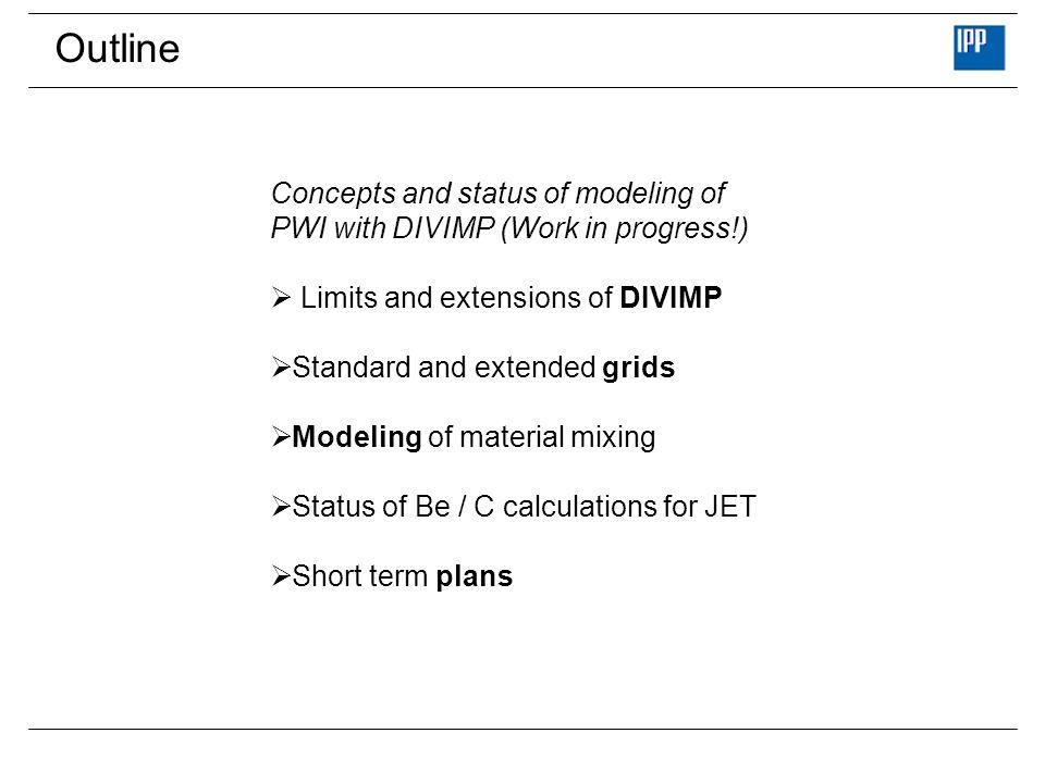 What is DIVIMP .DIVIMP : DIV ertor IMP urities developed by P.Stangeby / D.