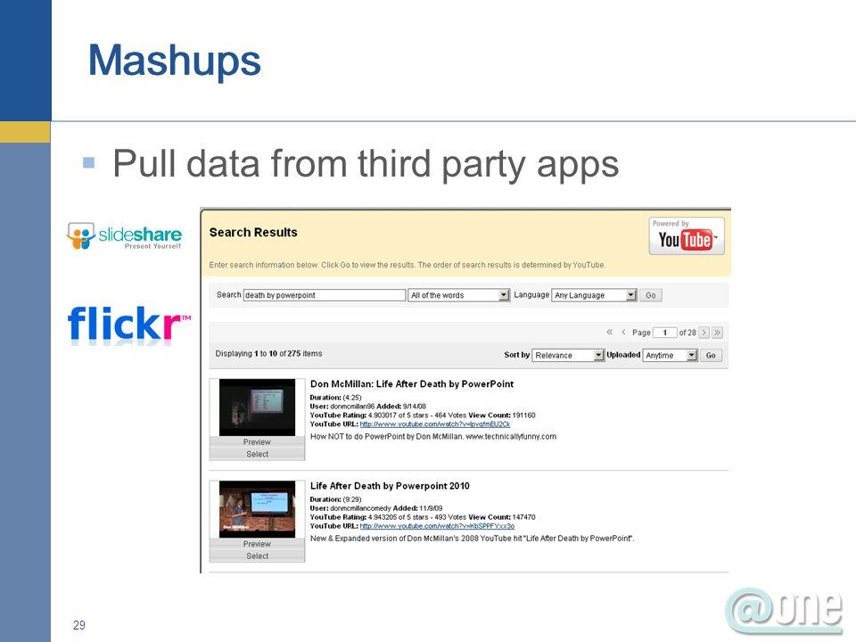 Basic content management Re-use content via linking Batch file/folder upload Drag and drop 30