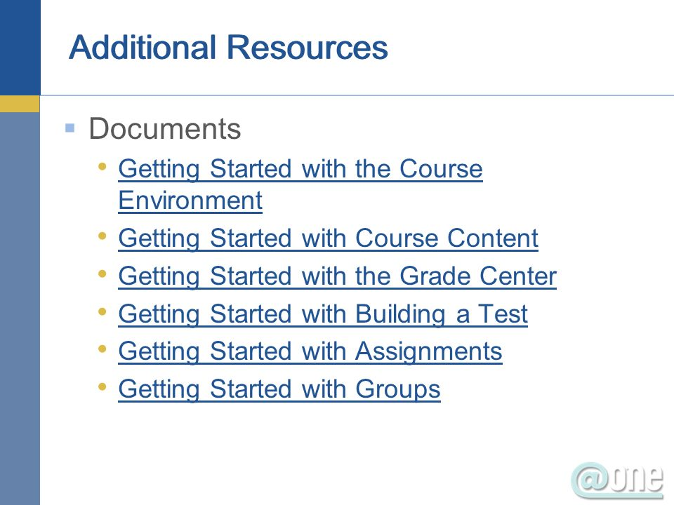 Websites Blackboard Blogs Upgrade Center On Demand Learning Center