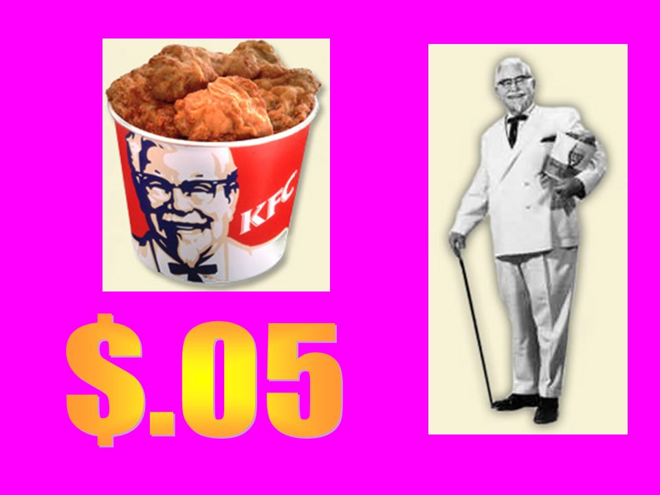 Franchises A.Harland Sanders B.Burger King C.McDonalds (Where is the First Macs?)