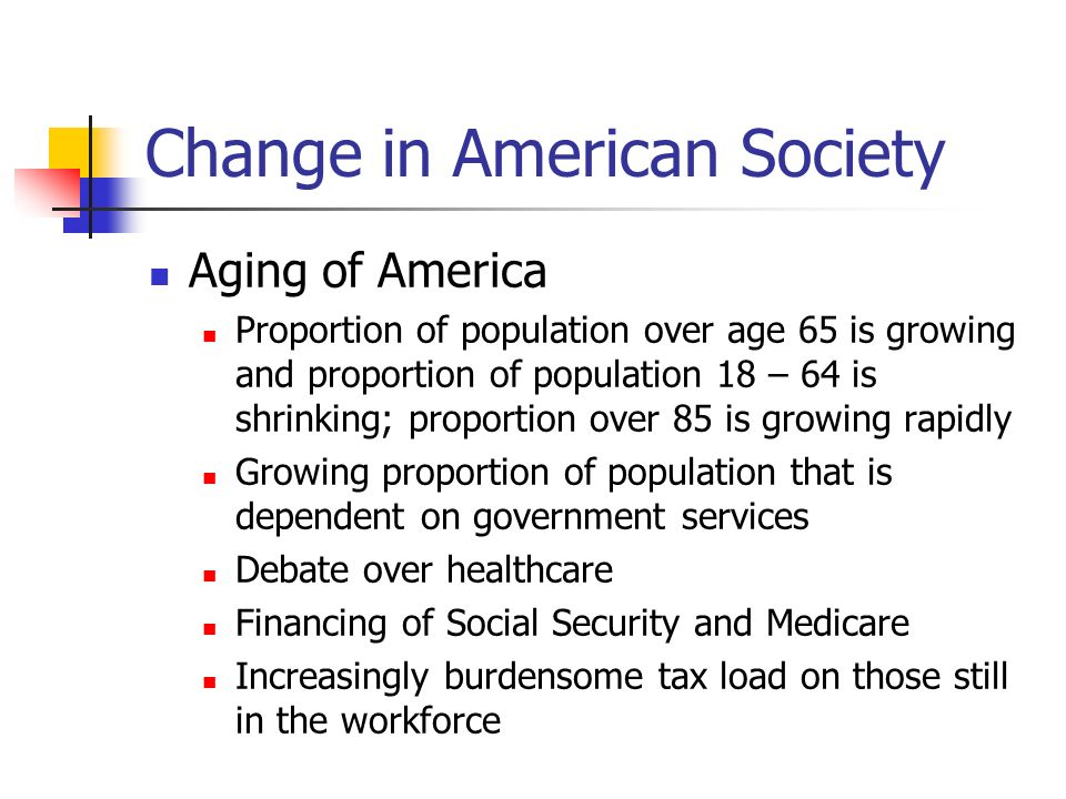 Change in American Society American Standard of Living - Income America is one of the top six nations in the United Nations Human Development index regarding education, living standards, income, and GDP Stagnated from 1973 – early 1990s; took off in 1990s.